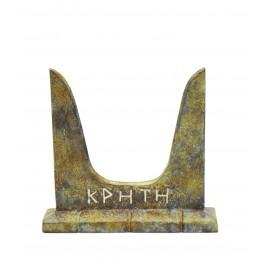 Bull's Horns Handmade of Brass RELIGIOUS SYMBOL MINOAN PERIOD - knossos shop